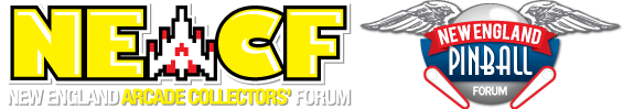 New England Arcade Collector's Forum and New York Arcade Collectors Forum and New England Pinball Collectors Forum
